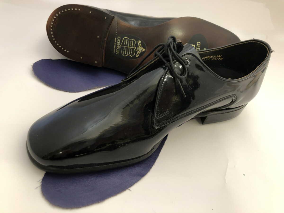 '60年代ビンテージデッドストックグレンソン 英国製靴 旧旧ロゴ希少ヴィンテージ ☆最安値に挑戦 グレンソンGrenson 数量は多 2FX 51 S019