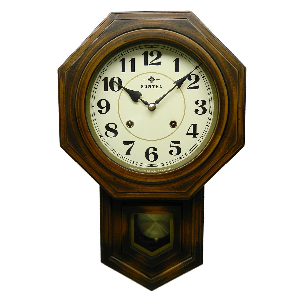 ≪ランキング受賞≫さんてる 八角形 ボンボン 時計 アラビア文字 日本製 木製 日本製 おしゃれ ギフト アラビア文字 ボンボン プレゼント インテリア 父の日, 新品?正規品 :69d15bc2 --- sunward.msk.ru