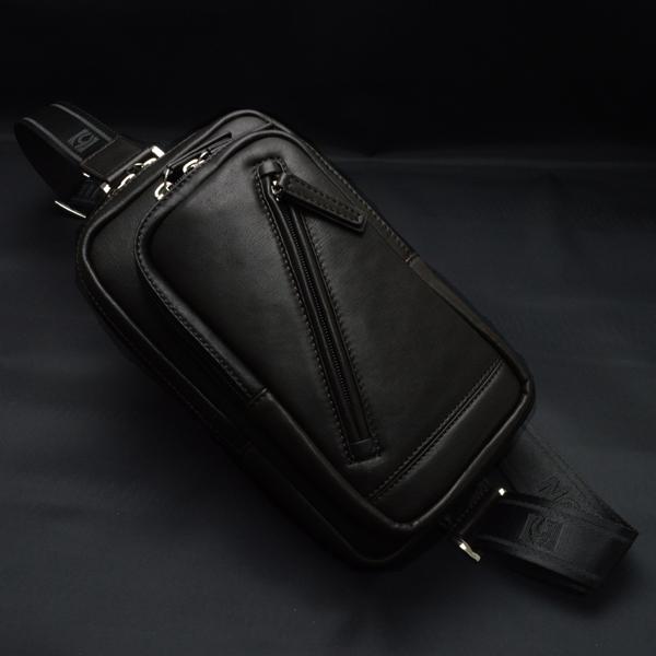 送料無料 HAMILTON ボディバッグ ショルダーバッグ ワンショルダー 馬革 本革 メンズ 紳士用 男性用 かばん カバン 鞄 16375