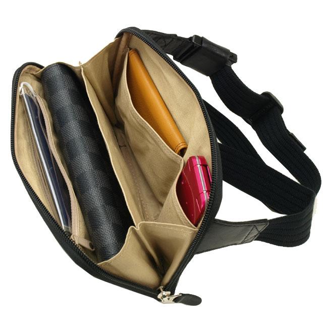送料無料 BLAZER CLUB 牛革 薄マチ ウエストポーチ ウエストバッグ ウエストバック 日本製 20cm メンズ 紳士用 男性用 かばん カバン 鞄 25780
