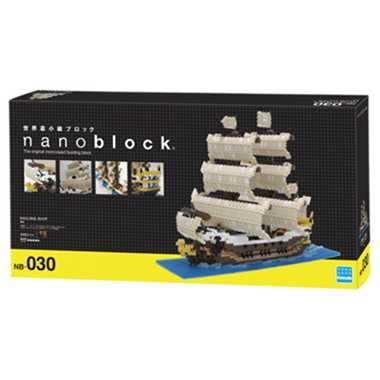 ナノブロック 帆船 nanoblock nanoブロック おもちゃ 知育玩具