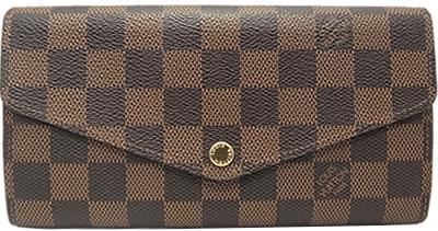 ルイヴィトン ダミエ ポルトフォイユ・サラ N63209 長財布 Louis Vuitton ヴィトン バック 財布【中古】