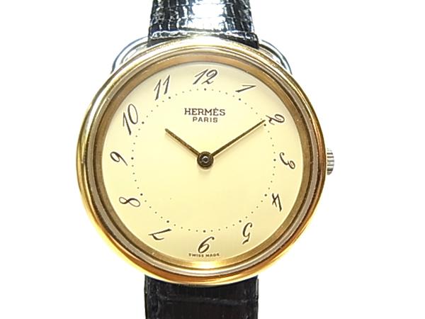エルメス アルソー腕時計 HERMES クオーツ 時計【中古】【送料無料】
