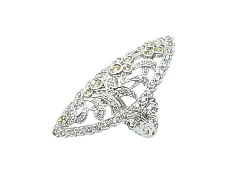 :K18 750 WG ジュエリー・アクセサリー・指輪【中古】