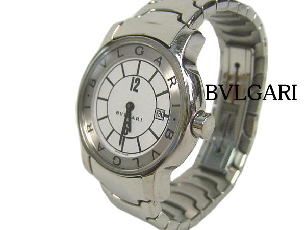 :ブルガリ ソロテンポ 腕時計(ST29S) BVLGARI Solotempo 時計 クォーツ ウォッチ【中古】
