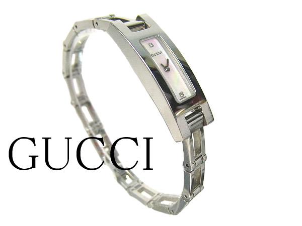 グッチ 3900L レディース 腕時計 GUCCI ダイヤ入り 時計 クォーツ 【中古】
