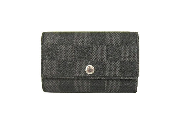 Key case M62662 Vuitton for Louis ヴィトンダミエグラフィット six