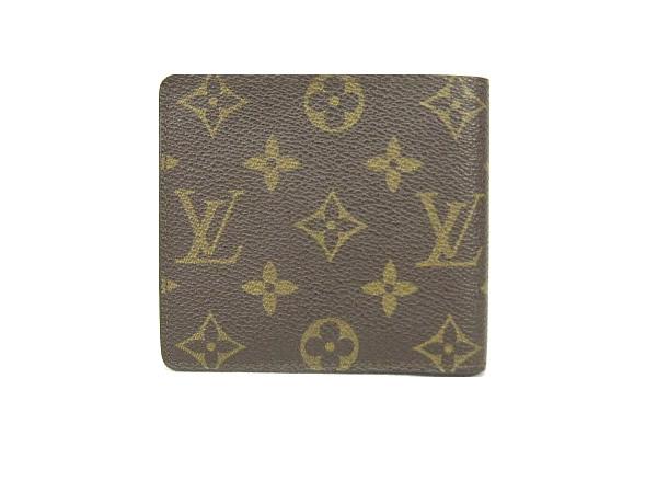 ルイ・ヴィトン モノグラム 二つ折り財布 M60879 LOUIS VUITTON ヴィトン 【質屋出店】【中古】