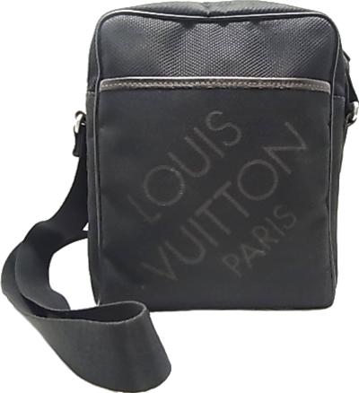 ルイ・ヴィトン ダミエジェアン シタダン MM ショルダー バック M93042 Louis Vuitton ヴィトン 小物 財布 斜め掛けショルダーバッグ メッセンジャーバッグ ノワール(ブラック) 【中古】