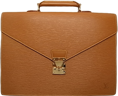 :ルイ・ヴィトン エピ 書類ケース ビジネスバッグ ブリーフケース ジパングゴールド Louis Vuitton M54428 ヴィトン 小物 財布 バック 【中古】