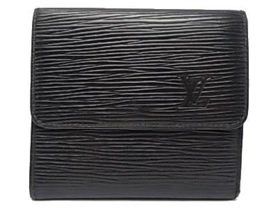 :ルイ・ヴィトン エピ ポルトモネビエカルトクレディ Wホック 財布 M63482 Louis Vuitton ヴィトン 【中古】