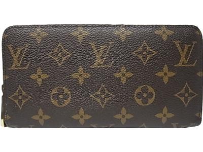 1aaaef529607 ルイ・ヴィトン モノグラム長財布 ジッピーウォレットラウンドファスナー M60017 Louis Vuitton ヴィトン 財布 【中古】-メンズ財布