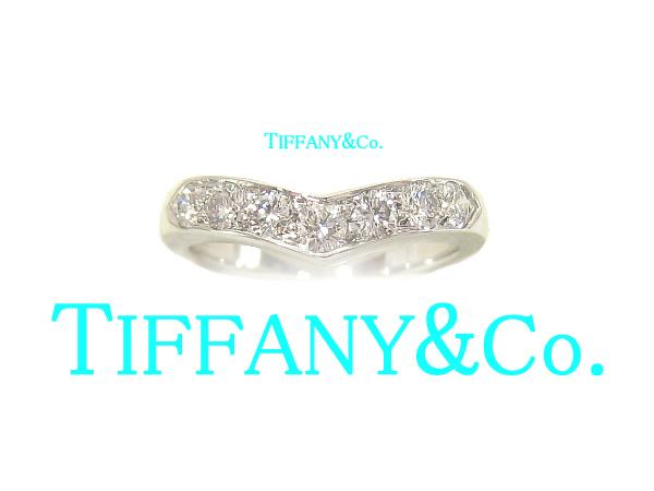 Bocca della Verita: Tiffany V bundling Platinum /Pt950 ...