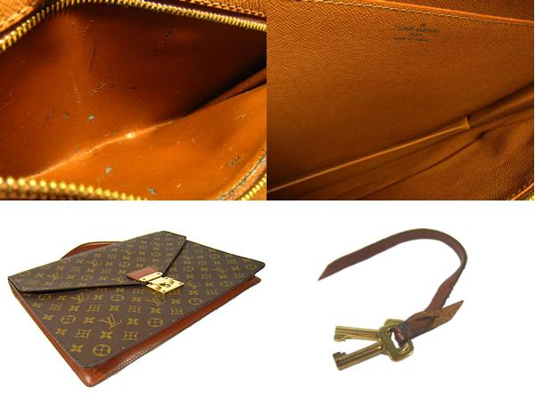 Louis Vuitton Monogram bag Porto document LOUIS VUITTON Vuitton M53338 business back documents case Briefcase Briefcase