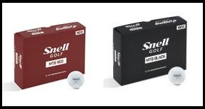 Snell Golf RED Ball (24球) 2ダース 【18年モデル】 【2ダースセット】 ゴルフボール スネルゴルフ レッド MTB ボール