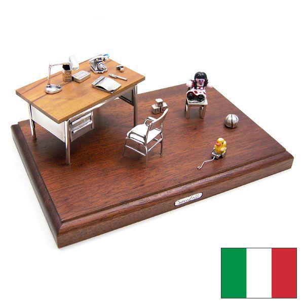小児科の銀細工・置き物 イタリア:Sacchetti(サケッティ)