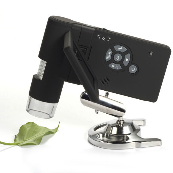 Handy Micron 3 small hand-held shooting stand fixed video images long time microscope Windows Windows Cordless microSD TEC TEC