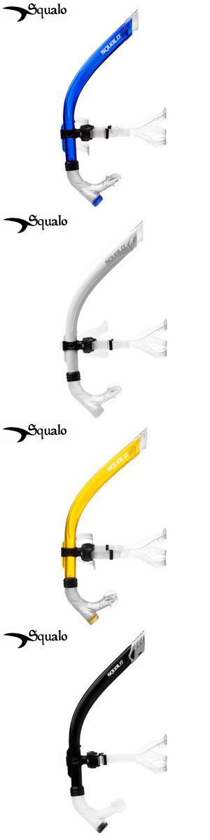 SQUALO Center snorkel swimming posture correction and fins for swimmers