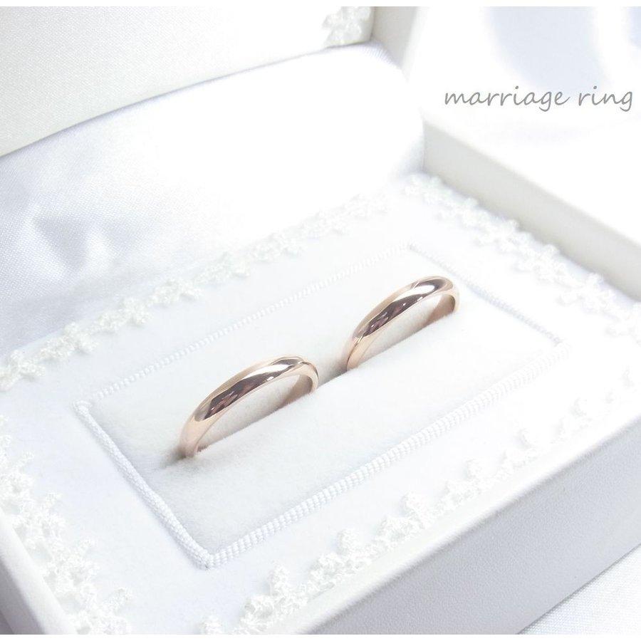 刻印5文字ずつ無料 世界にひとつ 桜色マリッジリング サクラ ピンクゴールド ペアリング 結婚指輪 マリッジリング ステンレス レディース 2本セット価格 付き シンプル ケース 純白 ブライダル 販売期間 限定のお得なタイムセール 人気 信用 刻印 メンズ