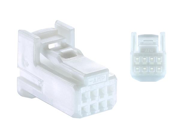 セール 特集 TE製025型シリーズ8極Fコネクタのみ 白色 送料無料新品 8P025-TE-F-tr 端子別