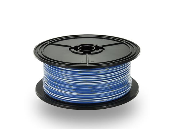 住友電装 AVS1.25f スプール100m巻き青・白ストライプ/AVS125f-100-BLWH