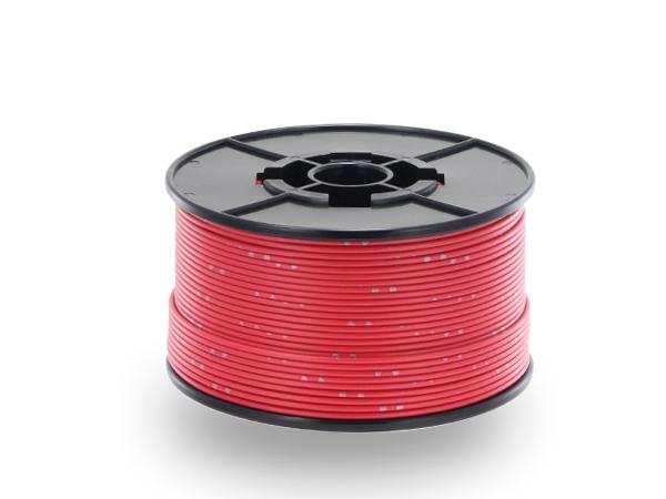 住友電装AVSS0.85sq 100mスプール巻き 赤色/AVSS085-100-RD