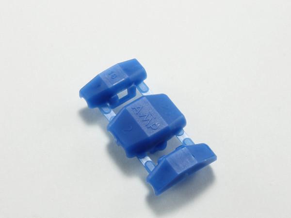 ショッピング おしゃれ 結線クリップ 青 AMP製エレクトロタップ DCBL-AMP