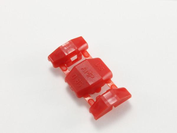 激安挑戦中 結線クリップ 赤 AMP製エレクトロタップ 数量限定アウトレット最安価格 DCRD-AMP