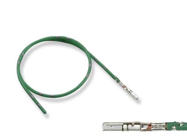 爆買いセール 2020 ■AMP製025型0.64IIIメス端子非防水-CAVS0.3緑色電線付き F025-AMP3-035056-CAVS03GRE