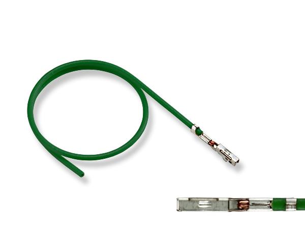 超激得SALE 040型非防水Fターミナル-CAVS0.5緑色電線付き F040-CAVS05GRE 卓越