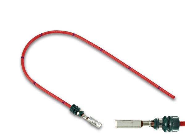 ■住友電装090型TS 防水 メス端子-AVS0.5 F090WP-TS-AVS05RD-18 特別セール品 電線付き 大人気! 赤色