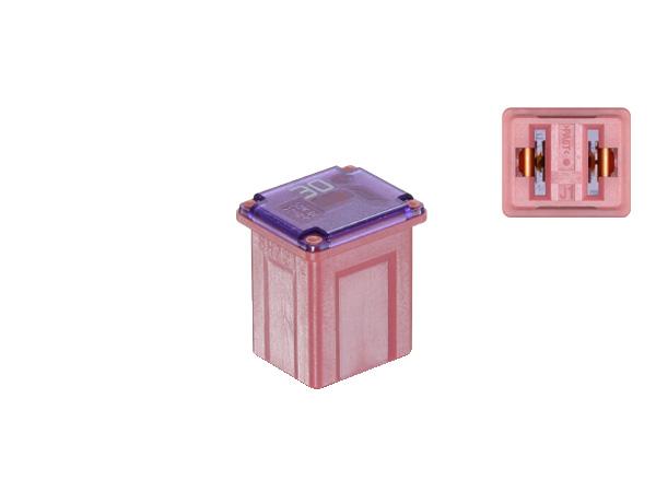 ブロック型ミニスローブローヒューズ低アンペアタイプ30Aピンク色 FL-SB30A-LPJ-PI 新作アイテム毎日更新 大決算セール