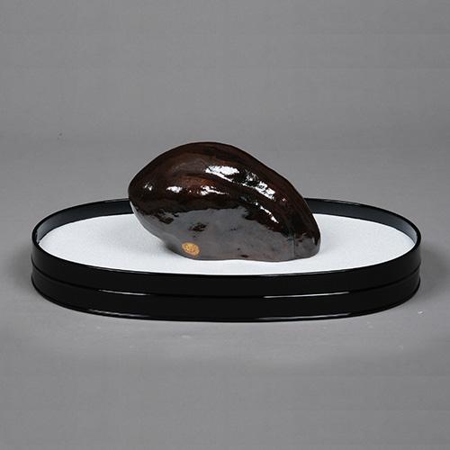 茶道具 新春・干支 模盆石 [限定3個] (21.5×13.5×H12cm) 川嵜和楽作