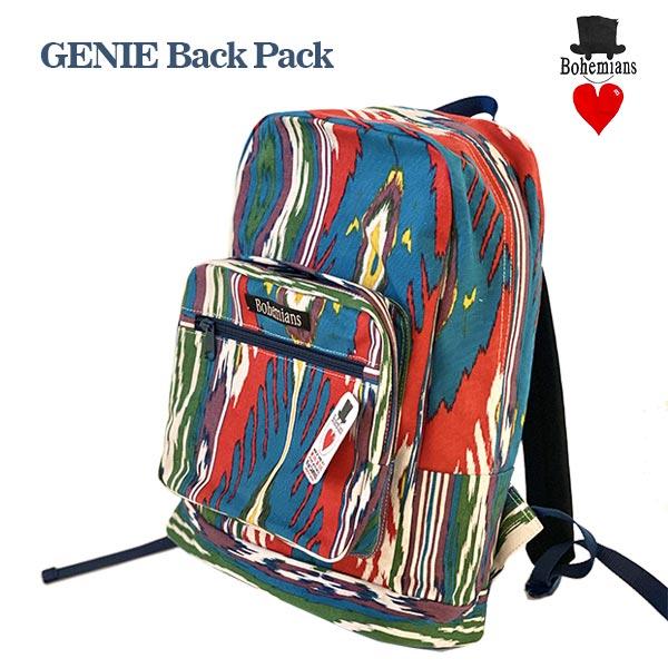 GENIE BACK PACK リュックサック BOHEMIANS ボヘミアンズ 日本製