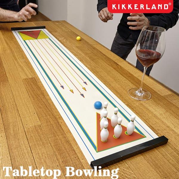 Tabletop Bowling テーブルトップボーリング ホームパーティー テーブルゲーム KIKKERLAND DETAIL