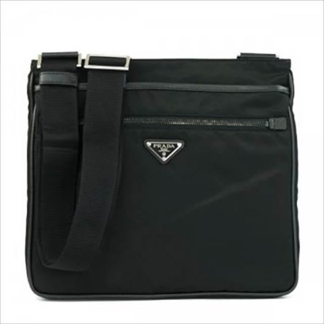 プラダ [PRADA] メッセンジャーバッグ 2VH251-064-F0002 NERO / ブラック【Luxury Brand Selection】
