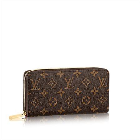 【ルイヴィトン モノグラム フューシャジッピー・ウォレット】LOUIS VUITTON 財布 M41895 【Luxury Brand Selection】