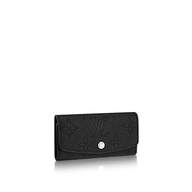【Fashion coupon】対象ショップ限定1000~30000OFFクーポンプレゼント20日~21日【ルイヴィトン マヒナ ノワールミュルティクレ4】LOUIS VUITTON キーケース M64054 【Luxury Brand Selection】