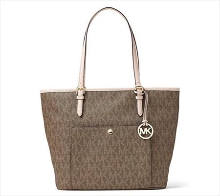 マイケルコース MICHAEL KORS トートバッグ 30F6GTTT3B MOCHA【Luxury Brand Selection】