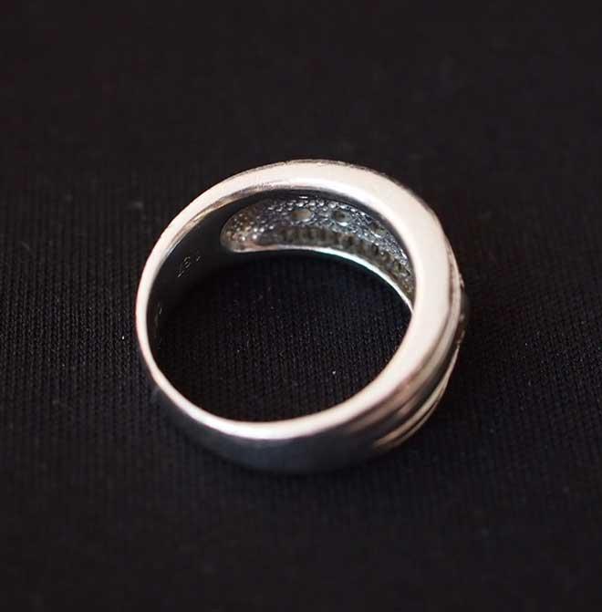 Laveriteブルートパーズタンザナイトリングリング中古Pt900新品仕上げ済み指輪ラベリテ