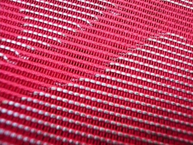 夏帯袋帯中古リサイクル銀糸花葉っぱセミフォーマル