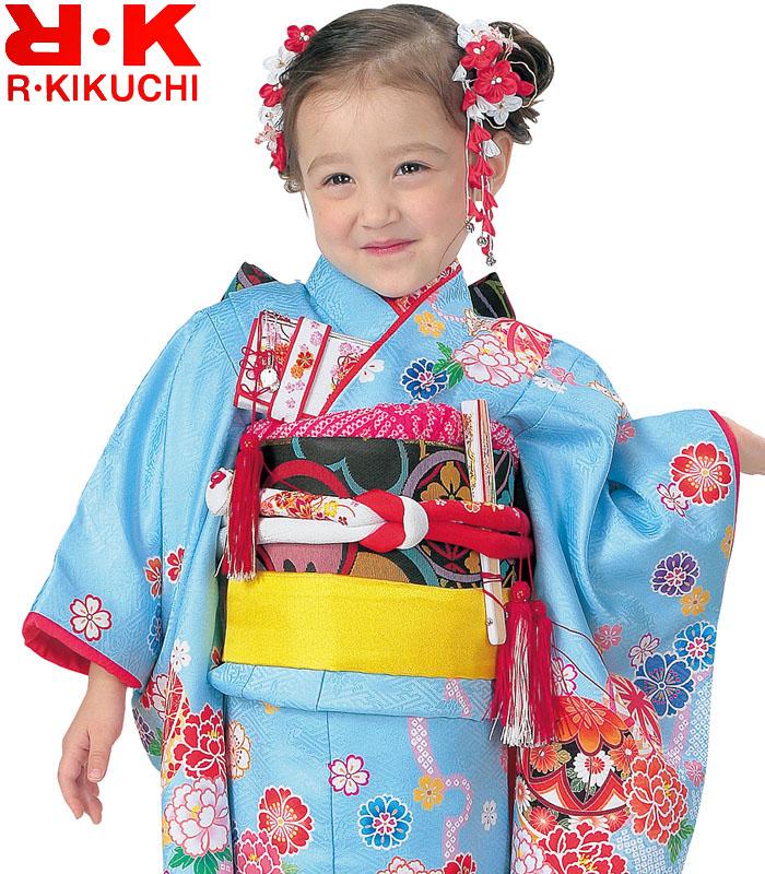七五三 着物 3歳 女の子 着物フルセット RK リョウコキクチ ブランド 10 2020年新作 販売 購入