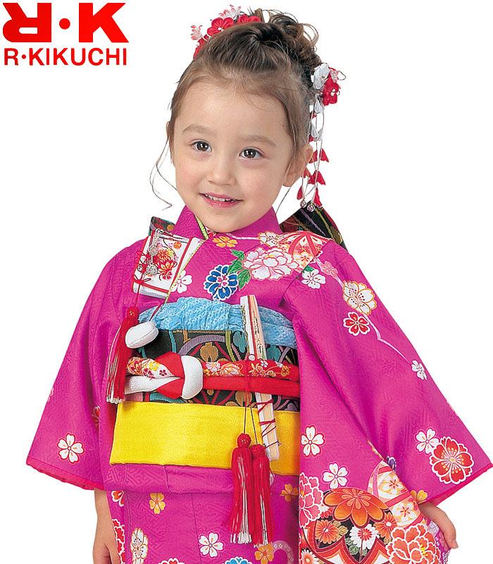 RK 販売 購入 ブランド 女の子 3歳 8 リョウコキクチ 着物フルセット 2020年新作 着物 七五三