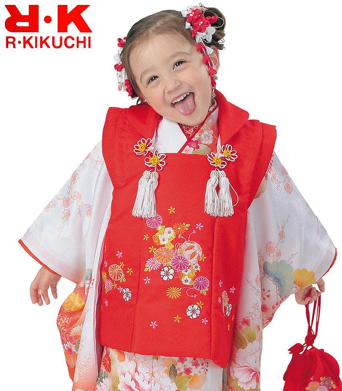 七五三 着物 3歳 女の子 被布セット RK リョウコキクチ ブランド 6 2020年新作 販売 購入