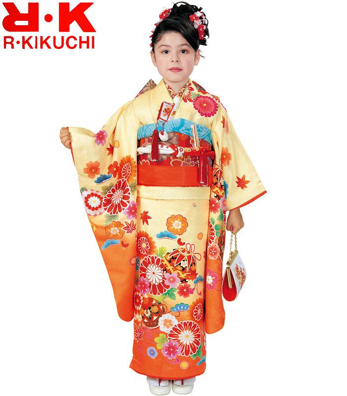 七五三着物 7歳 女の子 四つ身着物 単品 RK リョウコキクチ ブランド 3 2020年新作 販売 購入