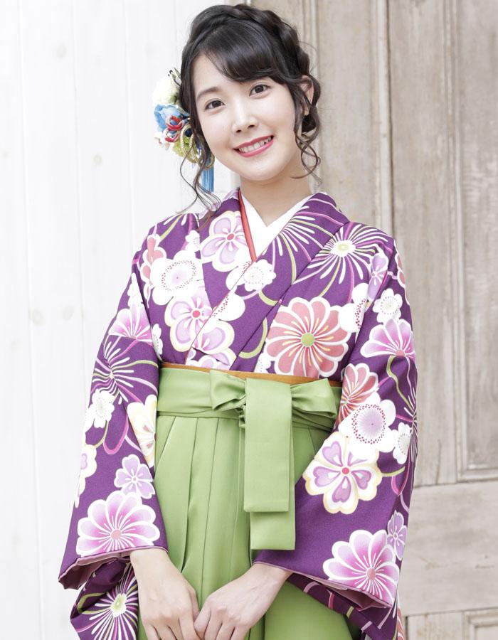 卒業式 袴 袴セット 女 二尺袖着物 ミサヤマ ブランド 袴7点セット 16 大学生 短大生 小学生販売 購入