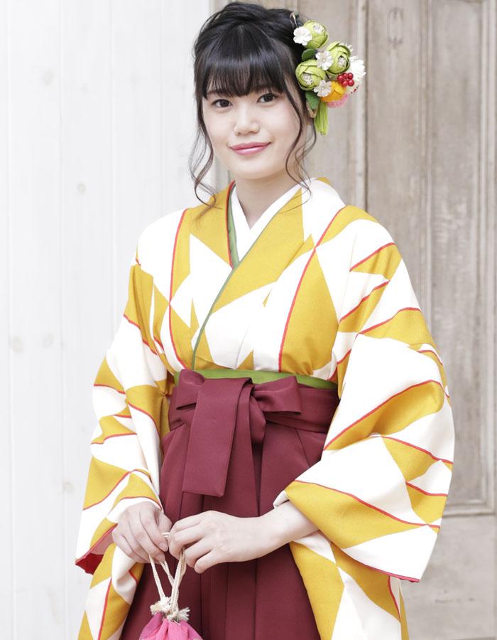 卒業式 袴 袴セット 女 二尺袖着物 ミサヤマ ブランド 袴7点セット 25 大学生 短大生 小学生販売 購入