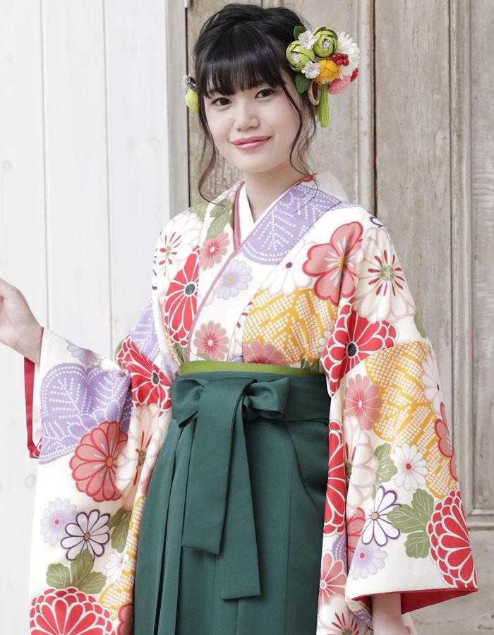 卒業式 袴 袴セット 女 二尺袖着物 ミサヤマ ブランド 袴7点セット 27 大学生 短大生 小学生販売 購入