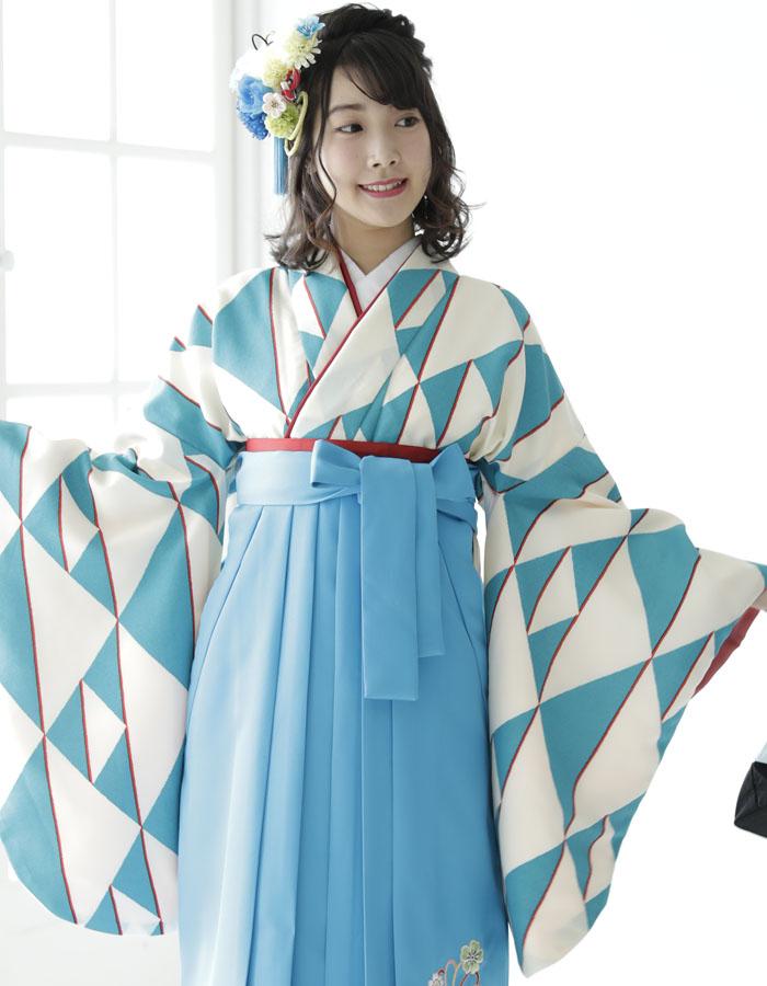 卒業式 袴 袴セット 女 二尺袖着物 ミサヤマ ブランド 袴7点セット 28 大学生 短大生 小学生販売 購入