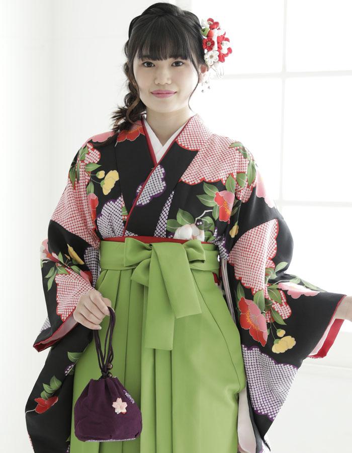 卒業式 袴 袴セット 女 二尺袖着物 ミサヤマ ブランド 袴7点セット 29 大学生 短大生 小学生販売 購入
